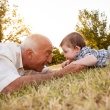 grand parent site stock-photo-21141958-grandfather-and-niece-at-park